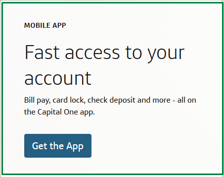 Capital One  MobileApp
