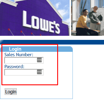 Logging in to MyLowesLife – Current Employees