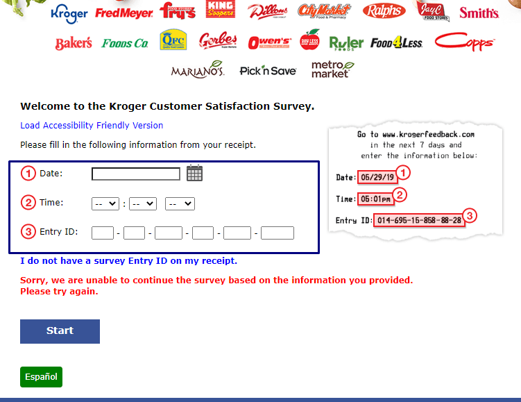 How do I participate in the KrogerFeedback Survey?