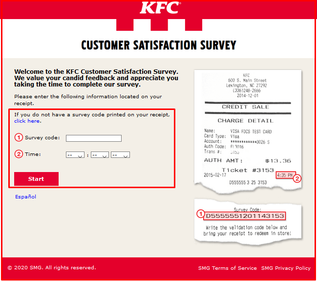 How to Enter MyKFCExperience Survey?