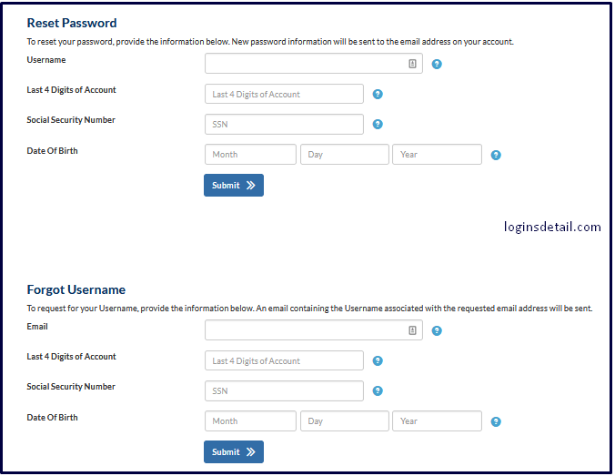 How to Reset Your Forget  MyIndigoCard Password & Username?