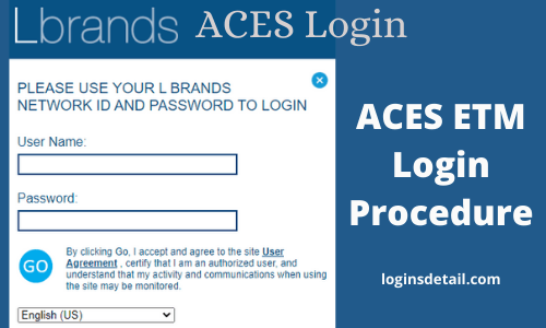 ACES ETM Login Procedure