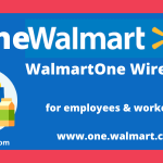 WalmartOne Wire Login for employees & workers at www.one.walmart.com