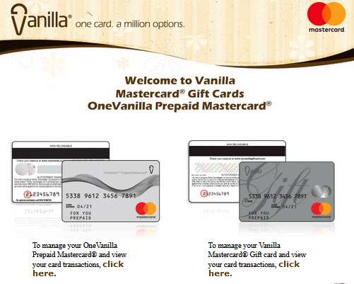 How To Register/Activate Myvanillagiftcard?
