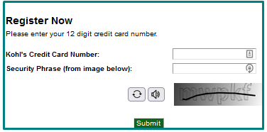 How to Register at MyKohlscard Portal?