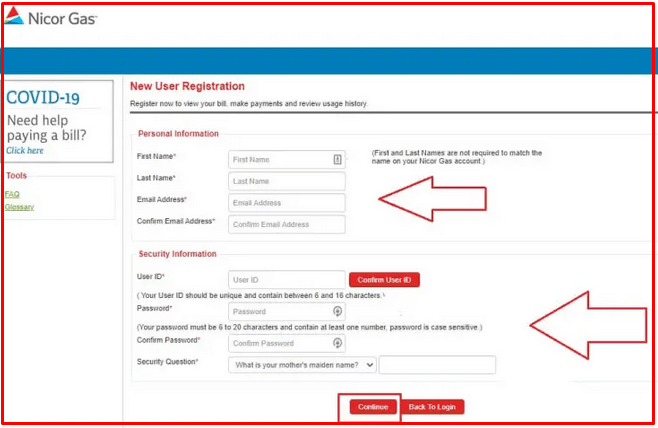 How to Register at Nicor Gas Portal?